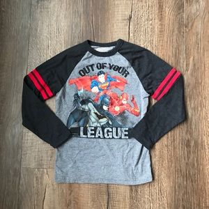 Other - NWOT Justice League Long Sleeve Shirt